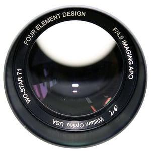 William Optics Apochromatischer Refraktor AP 71/350 WO-Star 71 Blue OTA
