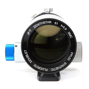 William Optics Apochromatischer Refraktor AP 61/360 ZenithStar 61 Blue OTA