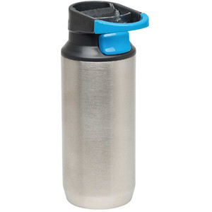 Stanley Mountain thermos flask with mug, 0.35l, silver