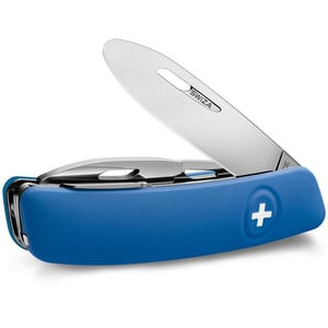 SWIZA J02 Swiss children's pocket knife, blue