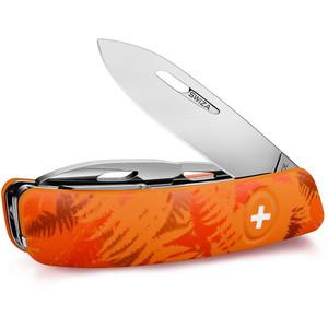 SWIZA Coltellino svizzero C03 FILIX Camo Farn Orange