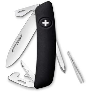 SWIZA D04 Swiss Army Knife, black