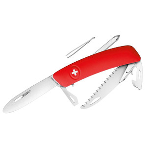 SWIZA J06 Swiss children's pocket knife, red