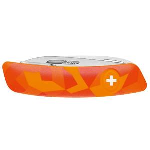 SWIZA Couteau de poche suisse pour enfant J06 LUCEO Urban Camo orange