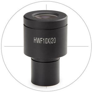Euromex BS.6010-C, HWF 10x/20 mm with cross hair for Ø 23 mm tube (bScope)