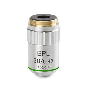 Euromex Obiettivo BS.7120, E-plan EPL 20x/0.40, w.d. 1.85 mm (bScope)