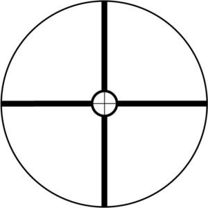 Lunette de visée Bushnell Trophy 1,75-4x32, Circle-X