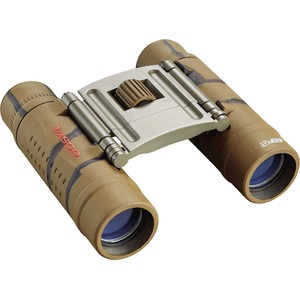 Tasco Binoculars Essentials 12x25 Brown Camo