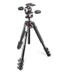 Manfrotto Treppiede Aluminio MK190XPRO4-3W con testa 3 vie