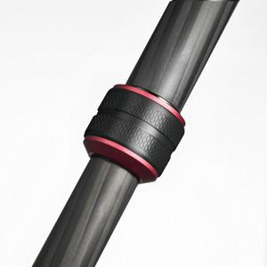 Manfrotto Carbon-Dreibeinstativ MK190GOC4TB-3W mit 3-Wegeneiger