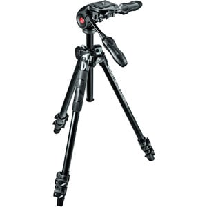 Trépied en aluminium Manfrotto MK290LTA3-3W avec inclinaison à 3 voies