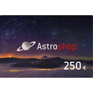 Astroshop voucher at a Value of 250 €