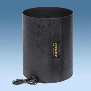 Astrozap Flexible dew shield with built-in dew cap heater for Maksutov 150mm telescopes
