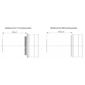 """Baader Kit de corrección de coma MPCC V-1 Mark III, Newton, 2"""""""