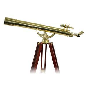 Omegon Telescópio de latão 28X80mm