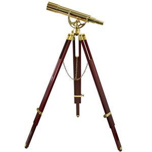 Omegon Telescopio de latón de 20-60x60mm