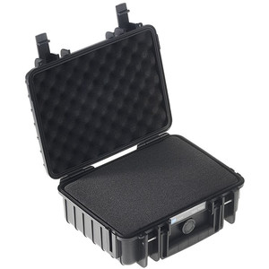 B+W Type 1000 case, black/foam lined