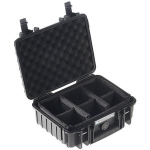 B+W Modelo 1000 negro/compartimentado