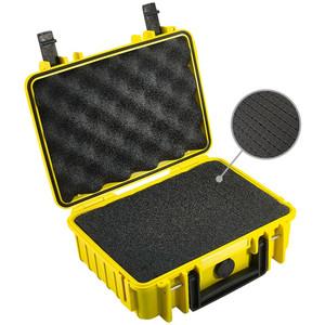 B+W Type 1000 case, yellow/foam lined