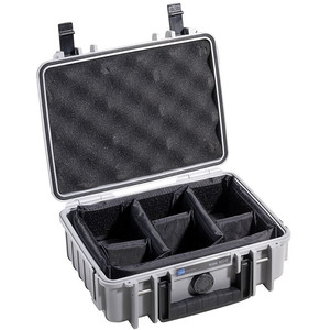 B+W Modelo 1000 gris/compartimentado