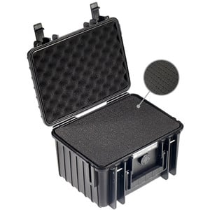 B+W Type 2000 case, black/foam lined