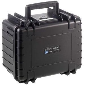 B+W Modelo 2000 negro/compartimentado