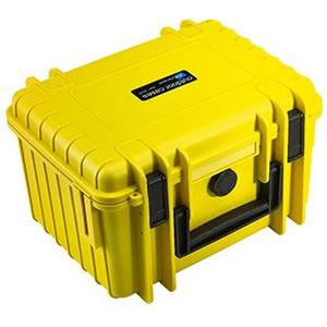 B+W Type 2000 case, yellow/foam lined