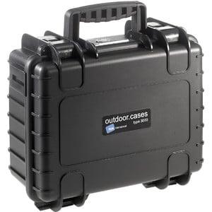 B+W Type 3000 case, black/compartment divisions