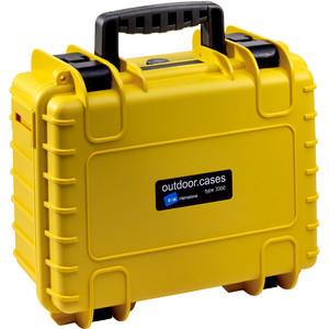 B+W Type 3000 gelb/Schaumstoff