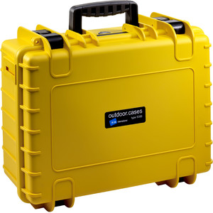 B+W Type 5000 giallo/scomparti