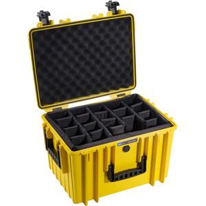 B+W Type 5500 giallo/scomparti