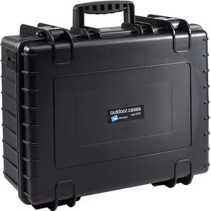 B+W Type 6000 case, black/compartment divisions
