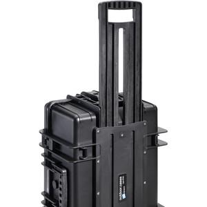 B+W Type 6700 schwarz/Fächereinteilung