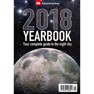 Astronomy Now Jahrbuch Yearbook 2018 with Calender