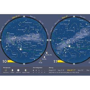 Astronomie-Verlag Poster Das Astronomische Jahr 2018