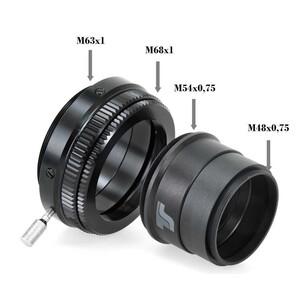 TS Optics Spianatore di campo per PhotoLine Apos 72 mm 1,0x