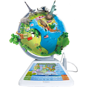 Oregon Scientific Kinderglobus Smart Globe Adventure Augmented Reality 23cm