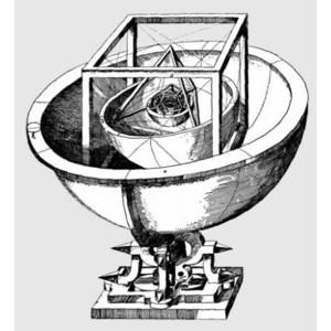 AstroMedia Keplero Mysterium Cosmographicum