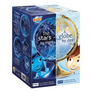 Buki Childrens globe Day and night English 21cm