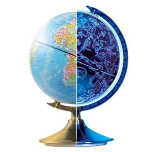 Buki Childrens globe Day and night English 21cm