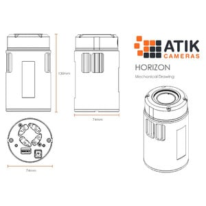 Atik Camera Horizon Color