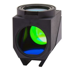 Optika LED Fluorescence Cube (LED + Filterset) for B-510LD4/B-1000LD4, M-1220, Blue LED Emission 460nm, Ex filter 455-495, Dich 500, Em 510LP