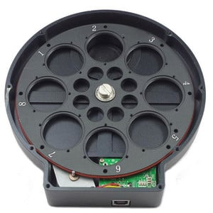 """ZWO Rueda de filtros motorizada EFW 8x1,25"""""""