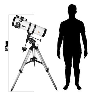 TS Optics Telescopio N 130/650 Starscope EQ3-1
