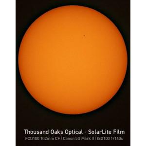 Explore Scientific Filtros solares Filtro solar Sun Catcher para telescopios de 80-102 mm