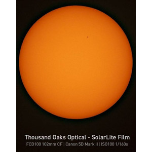 Explore Scientific Sun Catcher solar filter for 60-80mm telescopes