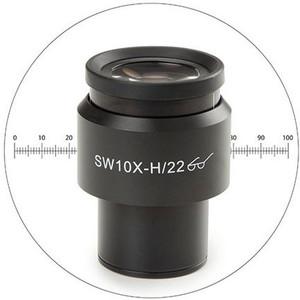 Euromex 10x/22 mm, oculare micrometrico, Ø 30 mm, DX.6210-M (Delphi-X)