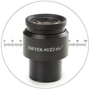 Euromex Oculaire 10x/22 mm, micromètre, Ø 30 mm, DX.6210-M (Delphi-X)