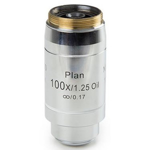 Euromex DX.7200 100X/1.25, plan, EIS, infinity, oil-immersion, sprung, w.d. 0.2mm, 60mm microscope objective (for Delphi-X)
