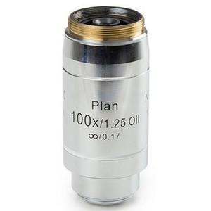 Euromex Obiettivo 100x/1,25, plan, EIS, corretto all'infinito, olio, a molla, w.d. 0,2 mm, 60 mm, DX.7200 (Delphi-X)